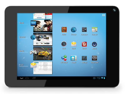 Coby KYROS MID8048-4 Tablet: Movies, games, email, and more