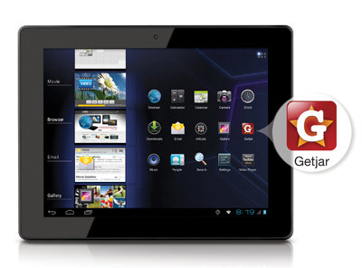 Coby KYROS MID9740-8 Tablet: Access to GetJar App store lets you customize your  web and entertainment needs