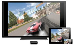 Apple TV airplay games