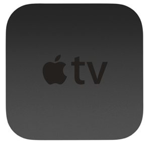 Apple TV top