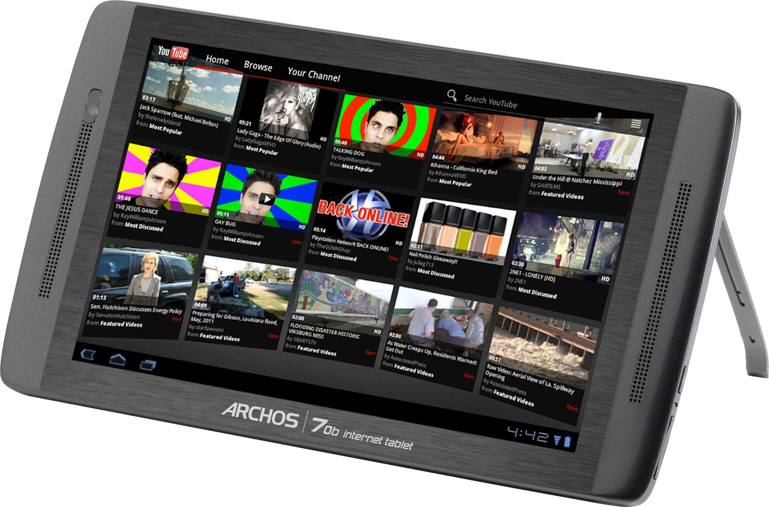 Archos 7 8Gb 70B Tablet With Wifi Review