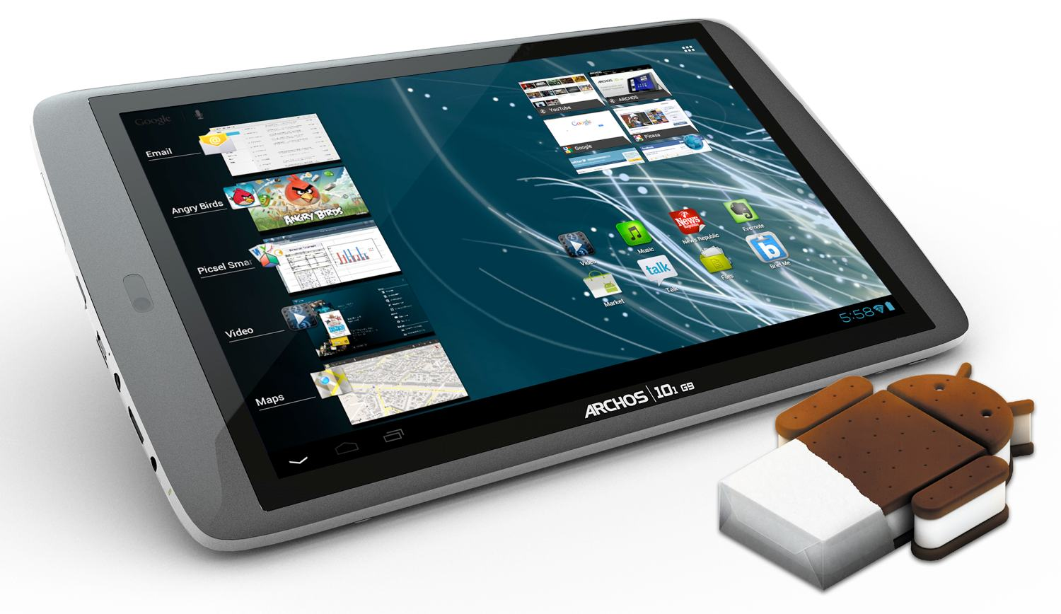 archos 101 g9 turbo ics 250gb 10 inch tablet vietnam. Black Bedroom Furniture Sets. Home Design Ideas