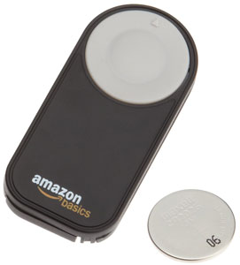 Il telecomando wireless AmazonBasics per Nikon SLR