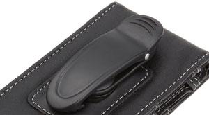 L'étui en cuir AmazonBasics pour iPhone 4