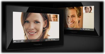 BlackBerry PlayBook video chat