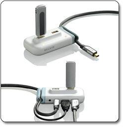 Belkin USB 2.0 Plus 4-Port Hub (White) F5U304-WHT