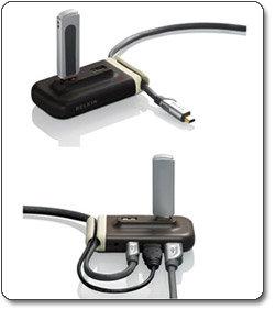 Belkin USB 2.0 Plus Hub (4 Port) F5U304-BRN
