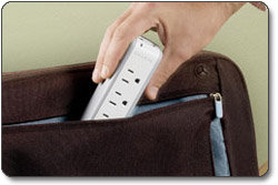 Belkin BZ103050vTVL Mini Surge Protector/Dual USB Charger