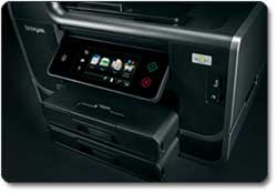 Lexmark Platinum Pro905 Business Class Wireless 4-in-1 with Web-enabled Touchscreen