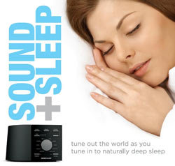 Ecotones SOUND+SLEEP machine, Model ASM1002 Product Shot