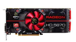 RADEON HD 5870 Graphics Card