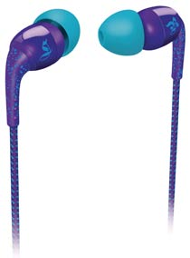 Philips O'Neill SHO9554/28 The Specked In-Ear Headphones (Royal Purple)