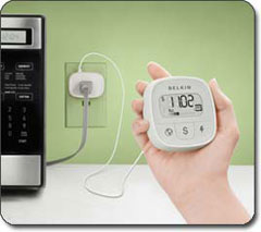 F7C005 Conserve Insight Energy Use Monitor in a Kitchen