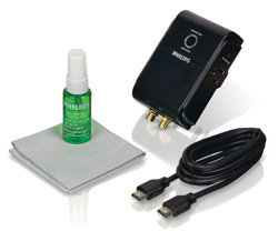 Philips HD Essentials Kit (Cable, Surge, Cleaning) Product Shot
