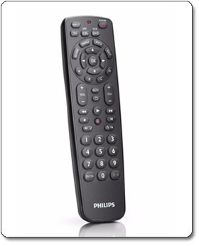 Philips Universal remote control 3-in-1 for TV/DVD/CBL