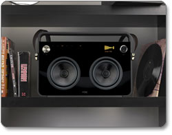 TDK Life on Record 2-Speaker Boombox