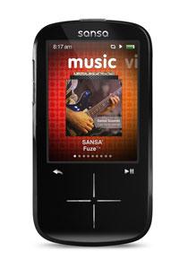 SanDisk Sansa Fuze+ MP3 Player