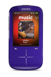 SanDisk Sansa Fuze+ MP3 Player