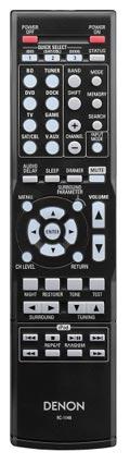Denon AVR-391 remote