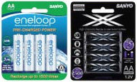 Genuine SANYO eneloop battery packages