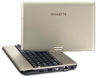 GIGABYTE Notebook T1005P