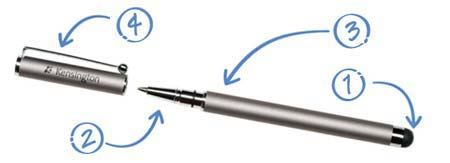 The Kensington Virtuoso Stylus and Pen