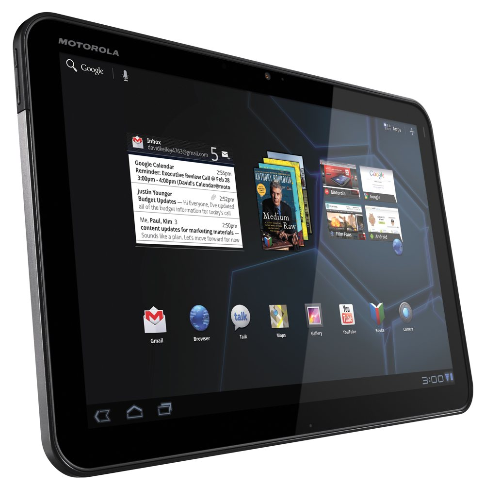 Motorola Xoom – Tablet Review