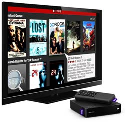 NETFLIX, AMAZON Instant Video, FLIXSTER