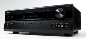 The Onkyo TX-SR508 receiver