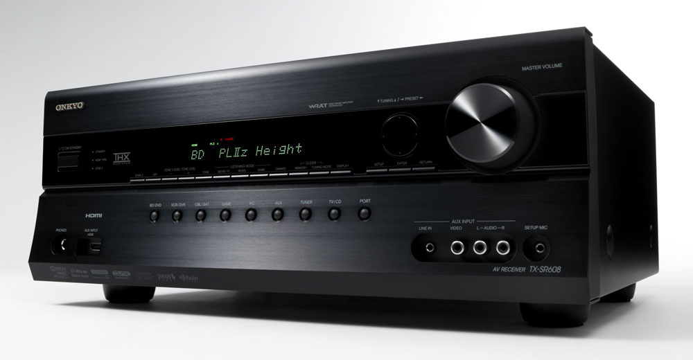 Onkyo TX-SR608 7.2-Channel Home Theater Receiver (Black) (Discontinued