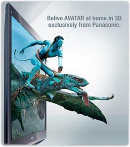Panasonic Ultimate 3D Pack with Avatar