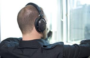The Phiaton MS 400 Black Headphones