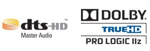 DTS-HD Master Audio and Dolby TrueHD