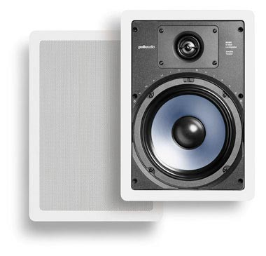 Polk Audio RC85i in-wall speakers in white