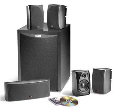 Polk Audio RM6750 in black