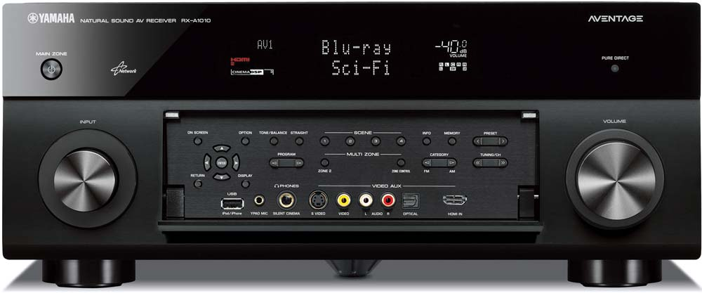 Yamaha RX-A1010BL 7.2- Channel Network AV Receiver (Discontinued by