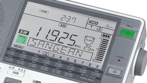 The Sangean ATS-909X Portable Radio