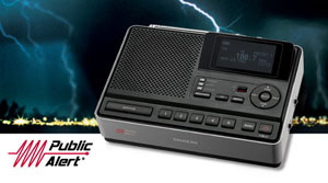The Sangean CL-100 Weather Alert Radio