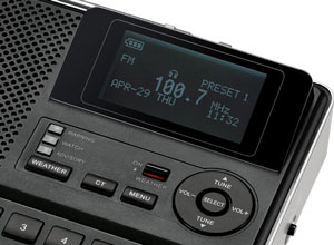 The Sangean CL-100 Weather Alert Radio