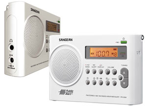 The Sangean PR-D9W Weather Alert Radio
