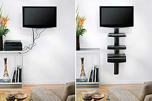OmniMount Tria 3 Shelf Wall System
