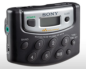Sony SRF-M37W Walkman