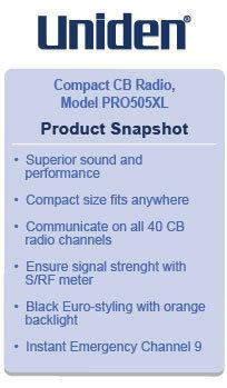 Uniden Pro505XL