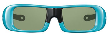 Youth 3D Active Glasses in blue