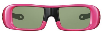 Youth 3D Active Glasses in pink