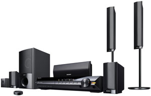 The Sony BRAVIA DAV-HD589W Theater System