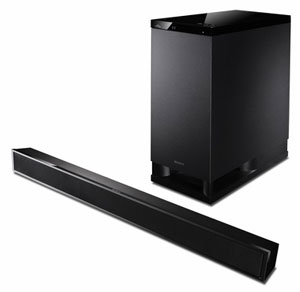 The Sony HT-CT150 Sound Bar and Subwoofer
