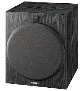 The Sony SA-W2500 Subwoofer