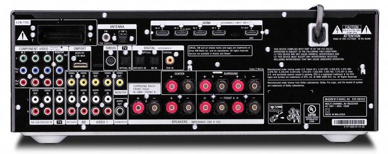Amazon Com Sony Str Dn1010 7 1 Channel A V Receiver