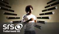 VIZIO SRS TruSurround HD technology graphic